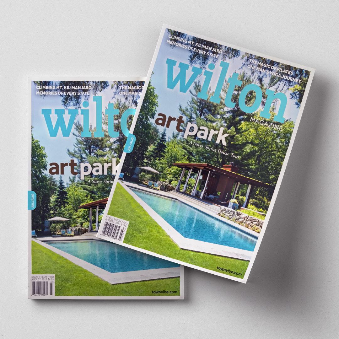 The LaurelRock Company As Seen In Wilton Magazine