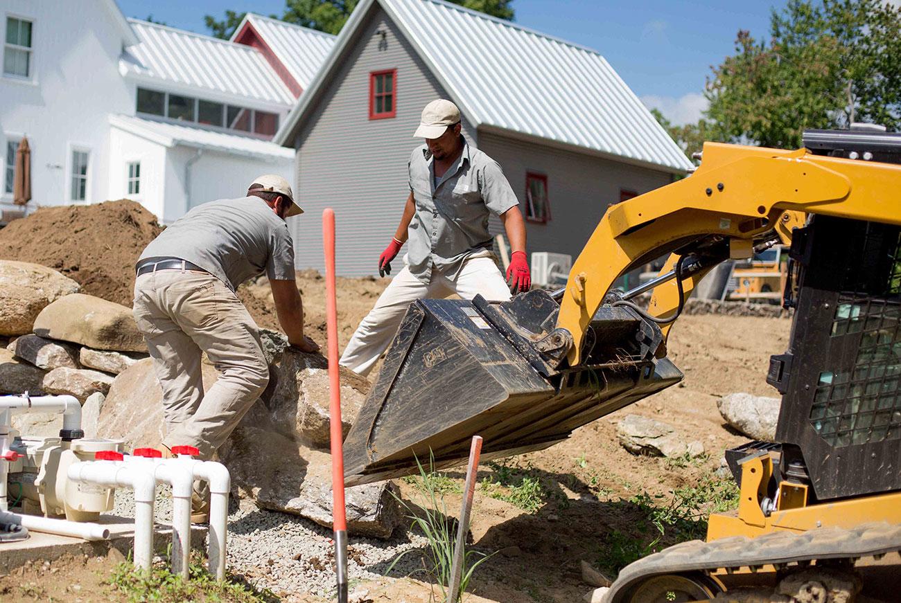 The LaurelRock Company - Landscape Design/Build Services in Connecticut - Retaining Walls