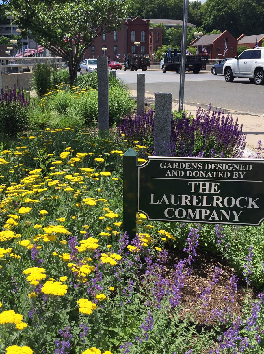 The LaurelRock Company is actively involved within the communities in CT we serve.