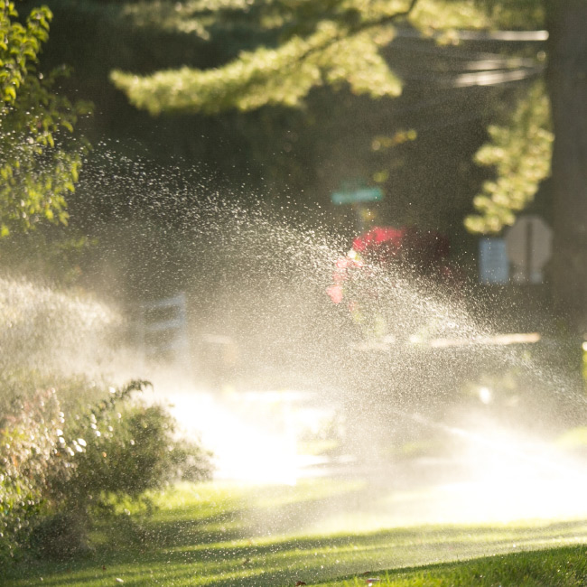 """The LaurelRock Company provides sustainable offerings including """"Smart"""" Irrigation."""